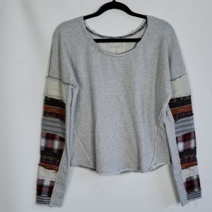 We the Free | Patchwork Sweater Small